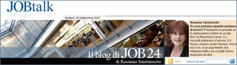 Job Talk - Il Blog di Job 24