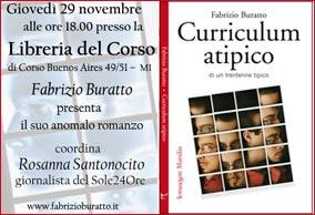 Invito Fabrizio Buratto
