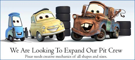 Pixar Job