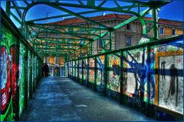 Ponte di Porta Genova - Milano (Click per ingrandire)