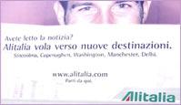 Pubblicità Alitalia