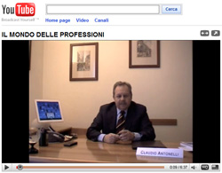 Canale YOU TUBE di PIU - Professioni Intelletuali Unite