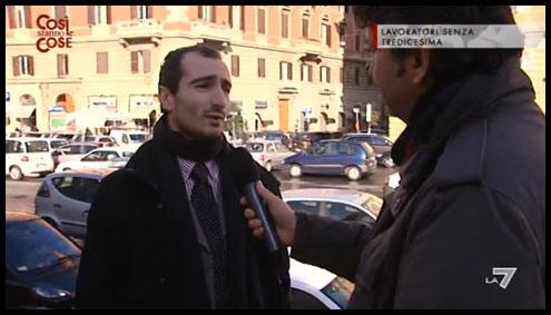 Giulio Marini - La7 Così stanno le cose