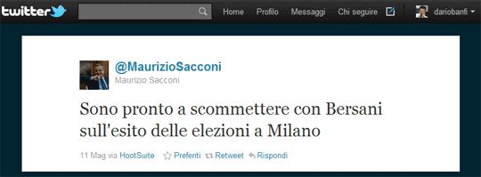La scommessa di Sacconi