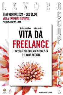 """Locandina - Presentazione """"Vita da freelance"""" a Tradate (VA)"""