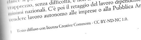 Licenza Creative Commons -  Ombre Corte