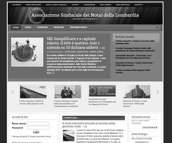 Sito Assonotailombardia.it - Creato da Dario Banfi