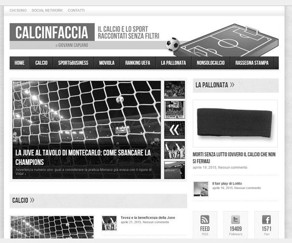 Calcinfaccia.it - Blog a cura di Giovanni Capuano