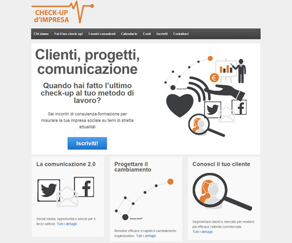 Clienti, progetti, comunicazione - Formazione per il Terzo Settore