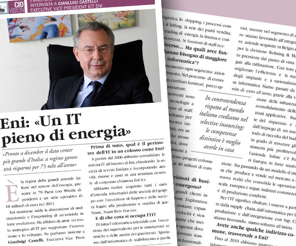 Dario Banfi ha realizzato le interviste e prodotto il libro CIO Vision