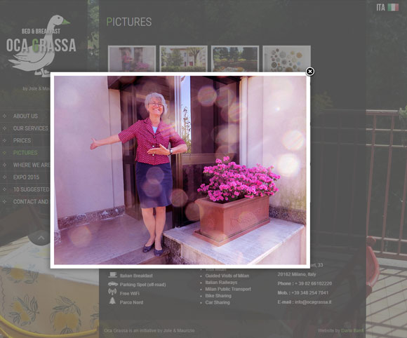 Una foto dalla Galleria di immagini del Bed & Breakfast Oca Grassa