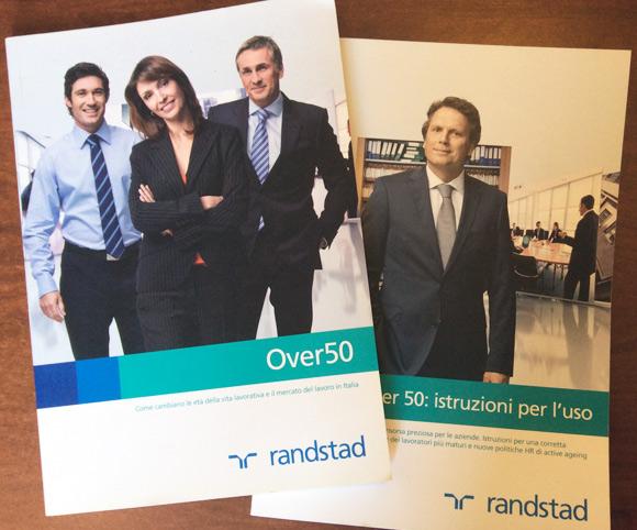 Copy by Dario Banfi per Guide Randstad sul Lavoro Over 50
