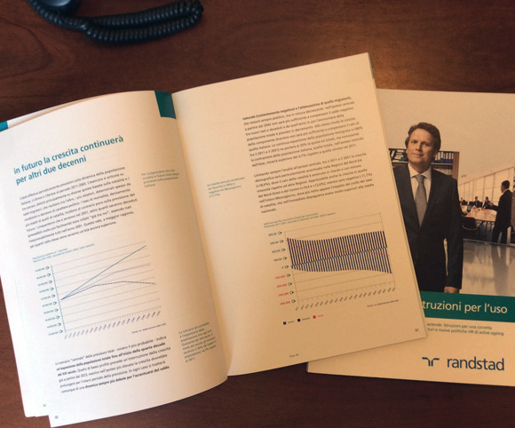 Analisi quantitativa e qualitativa del lavoro over 50 a cura di Randstad Italia