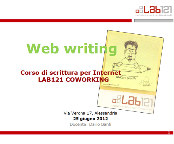Web writing | Scrivere per Internet
