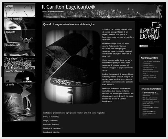 Il Carillon Luccicante - Spettacolo Teatrale di Silvia Scaglia