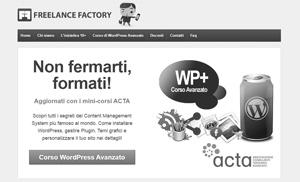 Formazione su WordPress