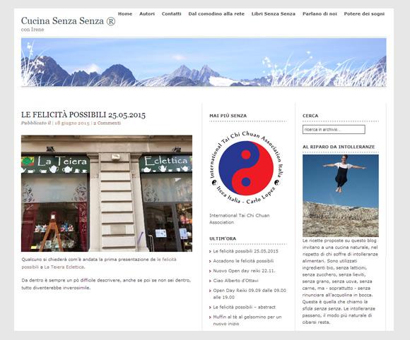 Il sito Cucinasenzasenza.com è stato realizzato da Dario Banfi