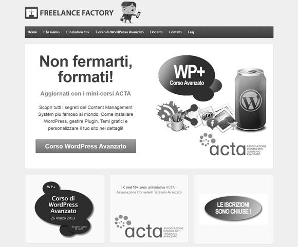 Corso su WordPress avanzato - Giornata organizzata da ACTA