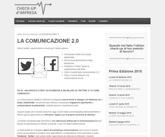 La comunicazione 2.0 - Corso di formazione manageriale a cura di Dario Banfi