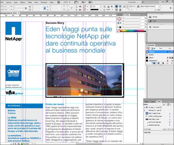 Impaginazione di PDF per casi di studio in ambito ICT