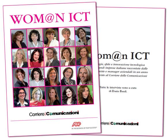 Wom@n ICT - Libro di interviste di Dario Banfi realizzate per il Corriere delle Comunicazioni
