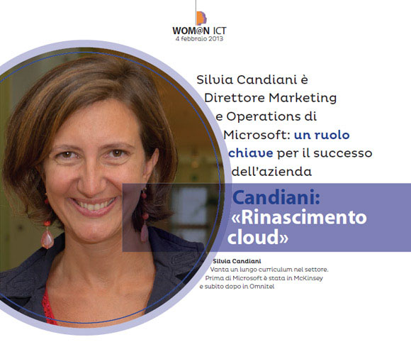 Wom@n ICT - Intervista di Dario Banfi a Silvia Candiani