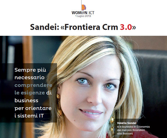Wom@n ICT - Intervista di Dario Banfi a Valeria Sandei