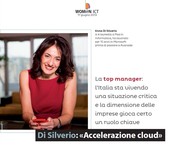 Wom@n ICT - Intervista di Dario Banfi ad Anna Di Silverio