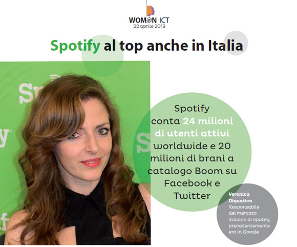 Wom@n ICT - Intervista di Dario Banfi a Veronica Diquattro