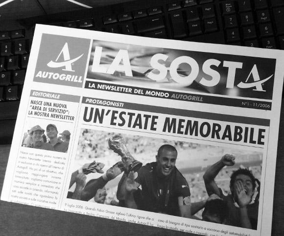 La Sosta - Newsletter Autogrill