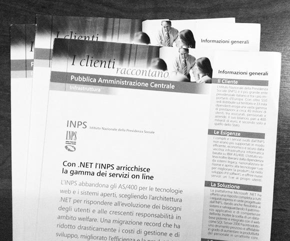 Case Study e Newsletter Microsoft Italia - Copy by Dario Banfi