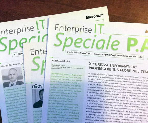 Speciale PA - Newsletter Microsoft a cura di Dario Banfi
