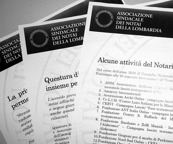 Comunicazione e Ufficio Stampa per Associazione Sindacale della Lombardia