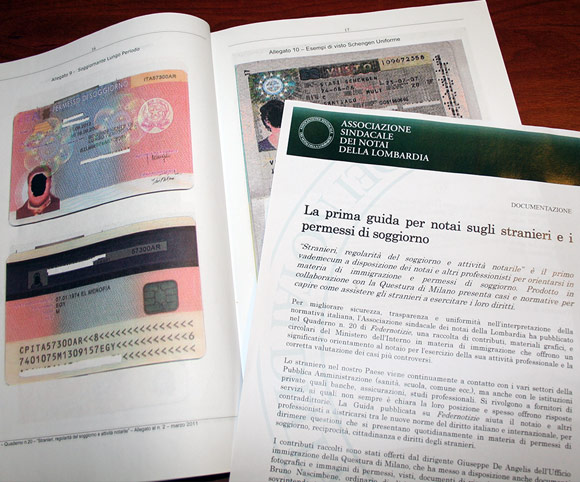 Comunicati stampa per giornalisti - Evento notai Lombardia - Copy Dario Banfi