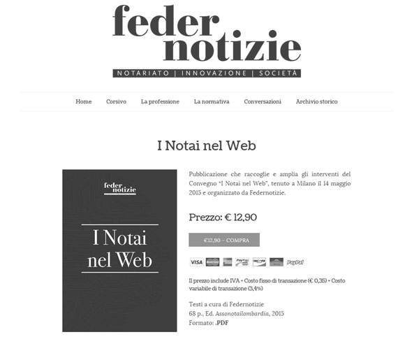L'Edicola di Federnotizie - Libri in formato digitali per notai