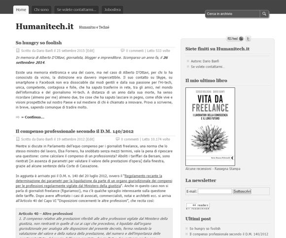 Humanitech.it - Il blog di Dario Banfi