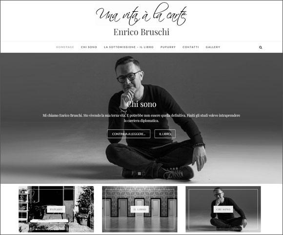 Enricobruschi.com - Sito Web realizzato da Dario Banfi