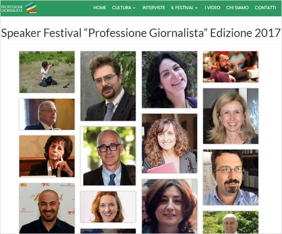 Gli speaker del Festival Professione Giornalista