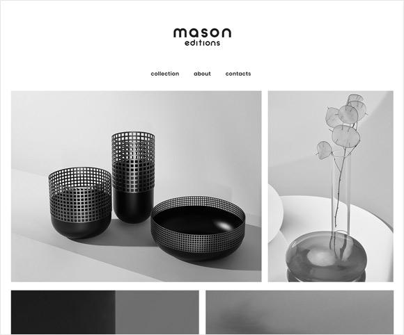 Mason Editions - Sito realizzato da Dario Banfi