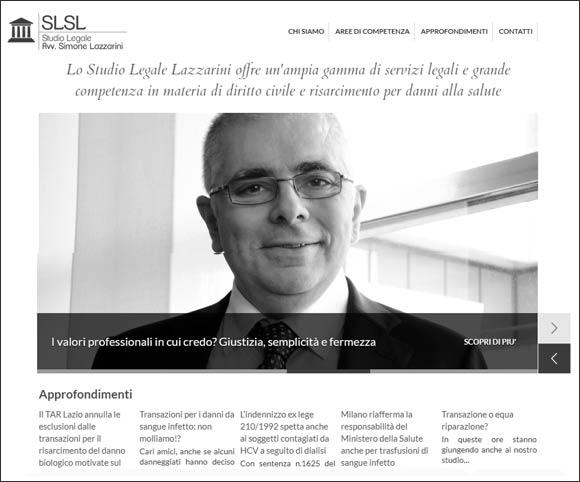Studio Legale avvocato Simone Lazzarini | Sito costruito da Dario Banfi