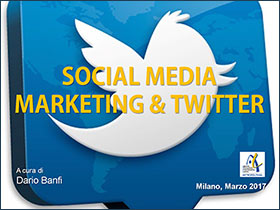 Social MEdia Marketing con Twitter - Corso a cura di Dario Banfi