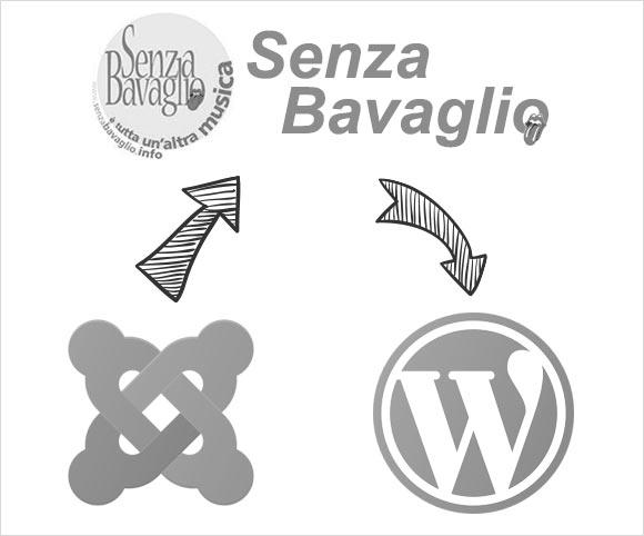 Senzabavaglio.info - Migrazione da Joomla! a WordPress