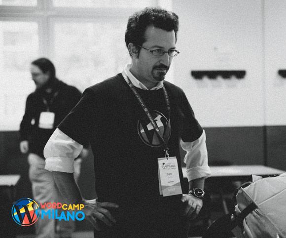 WordCamp Milano 2016 - Organizzazione a cura di Dario Banfi