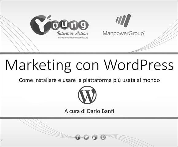 Young Talent in Action - Marketing con WordPress