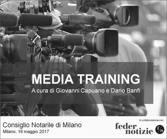 Media Training per notai - A cura di Dario Banfi e Giovanni Capuano