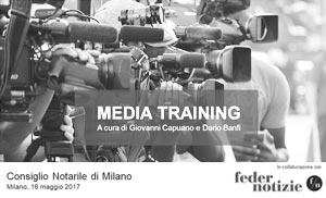 Media Training per notai