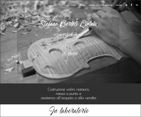 Stefano Bertoli Liutaio - Sito realizzato da Dario Banfi