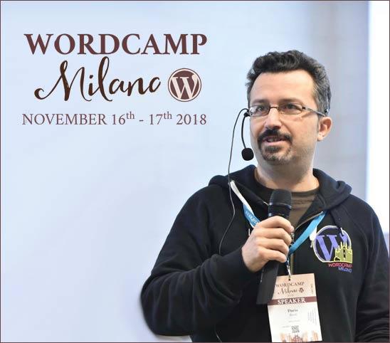 Talk Dario Banfi WordCamp Milano 2018