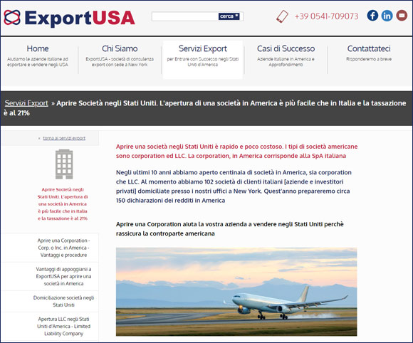 Export in Usa - Come creare una Corporation