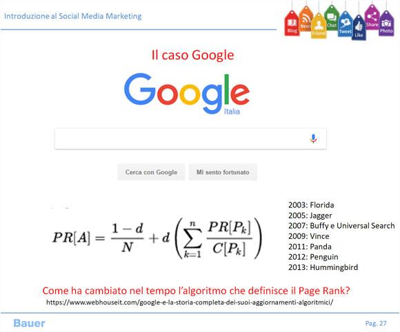 Social Media Marketing - Strumenti Misurazione Evoluzione degli algoritmi